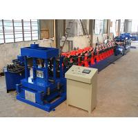 Quality Standard Z100 - 300 Purlin Roll Forming Machine For 1.6 - 3.2mm Thickness Material for sale
