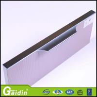 Buy cheap wholesale price extrusion aluminum profile handle kitchen cabinet cupboard door from wholesalers