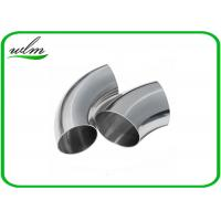 Quality Durable Sanitary Butt Weld Fittings 45 / 90 / 180 Degree Bends Elbows Fittings for sale