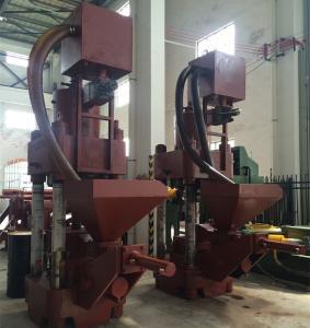 Quality Vertical PLC Control Hydraulic Briquette Press Machine For Metal / Cooper Chip for sale