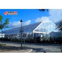 Quality Corporate Events Transparent Roof Tent , 2500 People Clear Roof Wedding Tent for sale