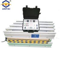 China Almex Hot Conveyor Belt Press 11.2kw Power Electricity Heating ISO Certification on sale