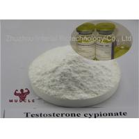 Quality Effective Strongest Testosterone Steroid Test Cyp Testosterone Cypionate 200mg CAS 58-20-8 for sale