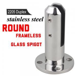 Quality Super Quality Porch Frameless Glass Railing Spigot For Balustrade for sale