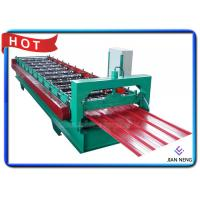 Quality Color Coated Tile Roll Forming Machine 18 Stands For Warehouses / Plants for sale