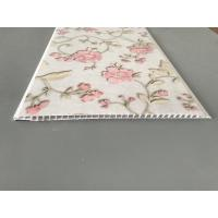 Buy Flower Design Decorative PVC Panels Water Resistant Decorative For Bedroom at wholesale prices
