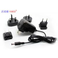 Quality 5V 2A  Interchangeable Power Supply Wall Mount Type Low Ripple Noise for sale