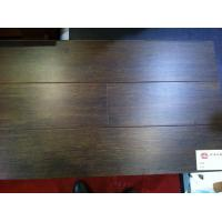 Quality Hand-scraped antique flooring--water proof--made from bamboo--walnut surface for sale