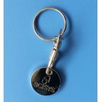 China caddy coin key chain, trolley coin keychains, coin holers, caddy coin holders on sale