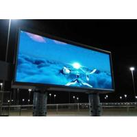 Quality HD Outdoor SMD LED Display 6800 Nits Brightness Wide Viewing Angle With Two Pillar Type for sale