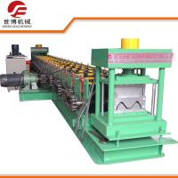 China Continuous Automatic Steel Stud Roll Forming Machine With Hydraulic Metal Cutter on sale