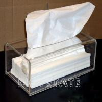 Quality Perspex tissue box for sale