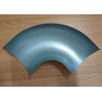 Quality Standard Pipe Elbow Dimensions 45 Degree Bends Halves Sheet , Deep Drawn Parts for sale