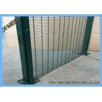 Quality pvc coated high security fence 358 security fence prison mesh security screen mesh for sale
