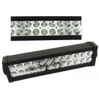 Quality 13.5 Inch 72W Double Row LED Light Bar , Flood LED Light Bar For Trucks Offroad for sale