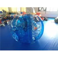 Buy cheap Durable Outdoor Inflatable Toys , Blue Inflatable Hamster Bumper Ball from wholesalers