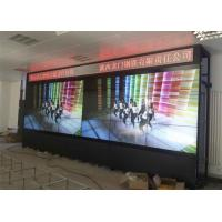 Quality 55 Inch 6x3 Full HD Indoor LED Video Wall 800cd/M2 Brightness For Live TV Station for sale