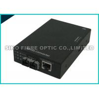 Quality Fiber Optic Media Converter Multimode , Fibre Ethernet Converter 1000 Mbps Gigabit for sale