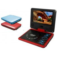 Quality LCD TFT Compatible Red 7 Portable HD Screen DVD Player with TV, Radio and Game Playing for sale