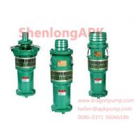 Quality Cast iron or stanless steel  blue QY Oil Immersed submersible pumps for sale