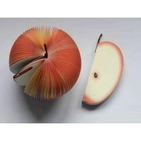 Quality Novelty Fruit Notepad / Apple Notepad / Fruit Memo Pad for sale