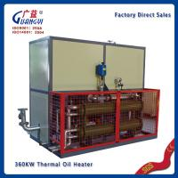 Quality hot Press machine 130kw thermal heating oil for sale