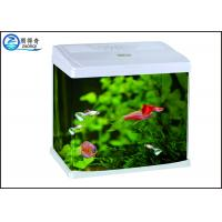 Quality 520 cm Mini Glass Aquarium Fish Tank With Fish Feeding Coffee Table Glass Aquarium With Led for sale