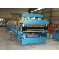 Buy cheap Guide Pillar Steel Color Roof Tile Roll Forming Machine High Precsion from wholesalers