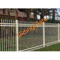 Quality Decorative Courtyard Automatic Driveway Gates , Electric Metal Gates Heat Treated for sale