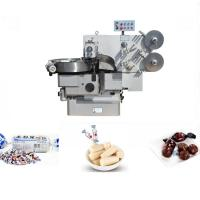 3Ph 380V Chocolate Bar Wrapping Machine , Double Twist Pillow Packing Machine