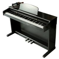 Quality Electronic Polished black 88 key Digital Piano With Melamine Shell for sale