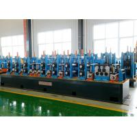 Quality High Speed Spiral Welded Pipe Mill , Welded Pipe Making Machine 21 - 63mm Pipe Dia for sale