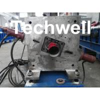 Quality Round Downspout Machine with Hydraulic Cutting / Downspout Roll Forming Machine for sale