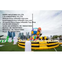 Quality Gigantic art zoo inflatable amusement park , customized inflatable bouncer toys for sale