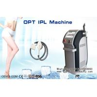 Quality Cooling SHR IPL Hair Removal Machine , Elight RF IPL Skin Rejuvenation Equipment for sale