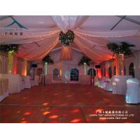 Quality Environmentally Anti - Fungus Large Wedding Tents For Indian Market for sale