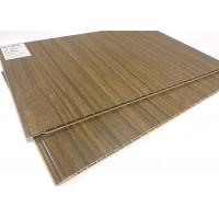 Quality Eco-friendly Wood Grain Waterproof Wall Panels / PVC Ceiling Panels for sale
