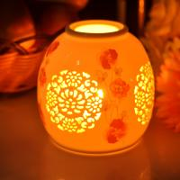 Buy PersonalisedCeramic Candle Holder Handmade HeatResistant ASTM Test at wholesale prices
