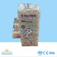 China Good Absorption S M G XG XXG Size Infant Baby Diapers For Infants Bebe Care on sale
