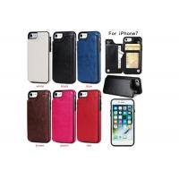 Quality Grid Pu Leather Phone Case Various Type Customized Designer Eco - Friendly for sale