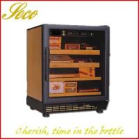 China elegance Cigar humidor with imported cedar shelf on sale