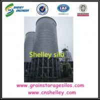 China Galvanized Steel Metal material types of Grain storage Silo for sale on sale