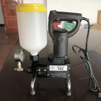 Buy cheap Waterproof Grouting Mortar Spraying Plaster Machine Cement Spray Machine from wholesalers