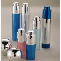 Quality rotate function 15ml 30ml 50ml empty cosmetic airless bottle package for sale
