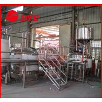 Quality 5BBL Manual Industrial Beer Brewing Equipment Anti-aging For Restaurant for sale