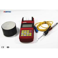 Quality High Precision Portable metal hardness tester with Printer and 3 Inch LCD or LED Display for sale