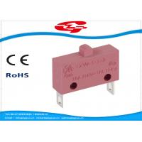 Quality 10A 5A 250V AC Electrical Micro Switches , Push Button Electric Switch SPST Type for sale
