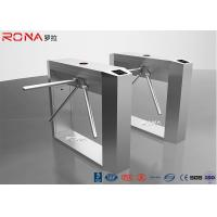 Quality Half Height Tripod Turnstile Gate Indoor / Outdoor Automatic RFID LED Ditector for sale