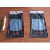 Quality Moisture Proof Plastic Cigar Packaging Bag With Resealable Ziplock for sale