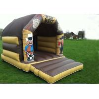 Quality Wonderful Wild West Inflatable Bouncer Custom Jump For Kids Party for sale